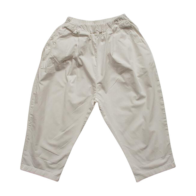The Summer Trouser, Ecru