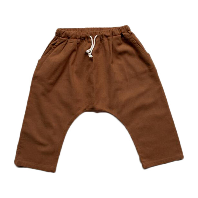 The Linen Trouser, Rust
