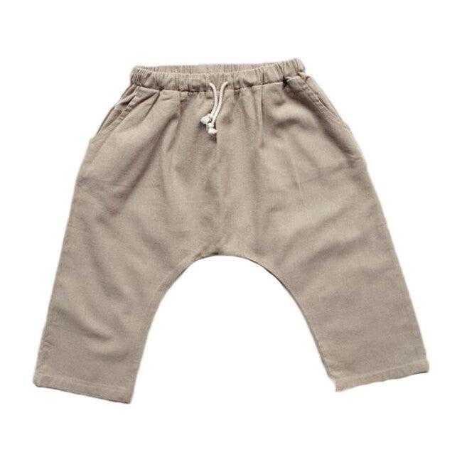 The Linen Trouser, Oatmeal