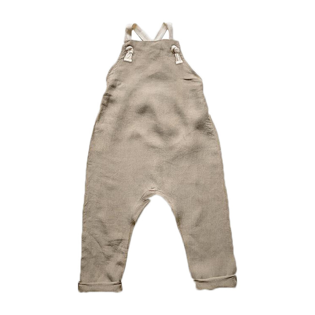 The Linen Overall, Oatmeal
