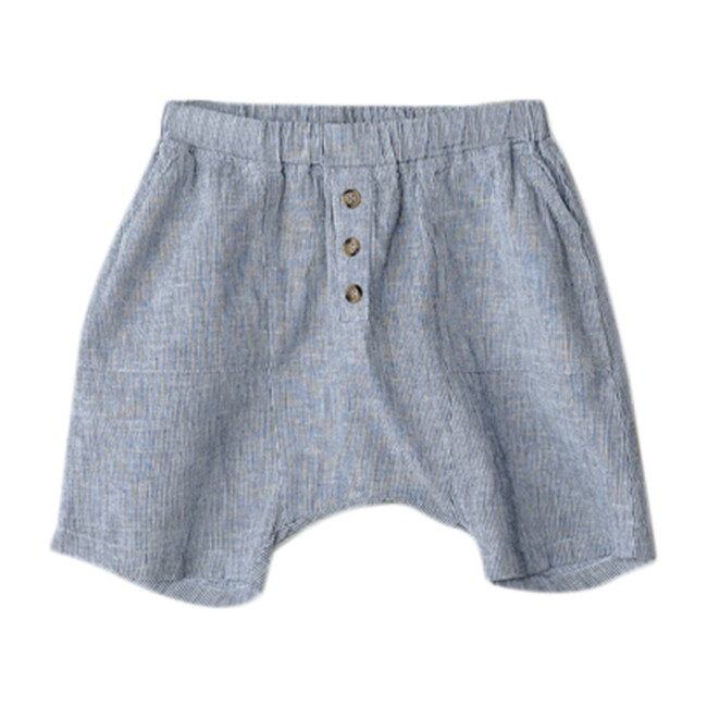 The Explorer Short, French Stripe