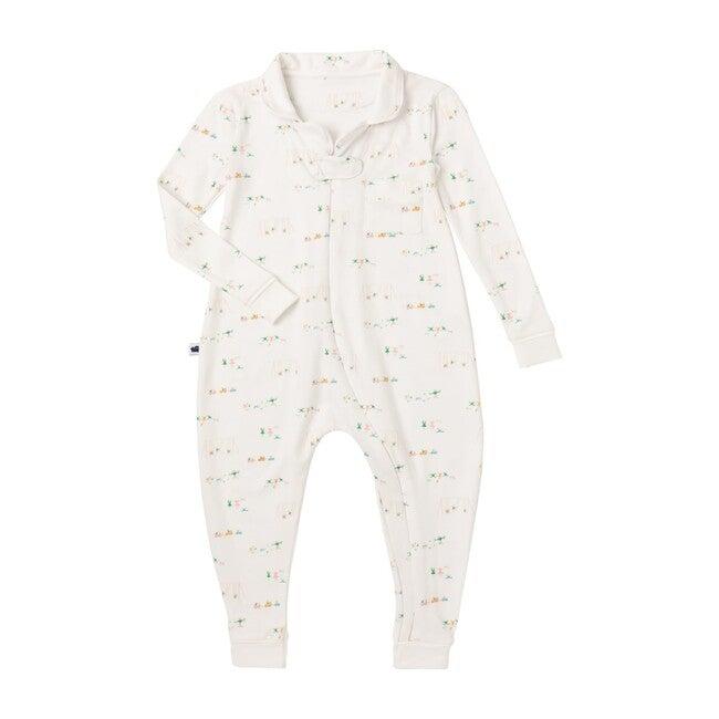 *Exclusive* Footless Pajama Onesie 2.0, Al Stampa Playground Print