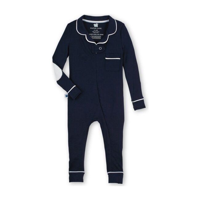 Footless Pajama Onesie 2.0, Navy