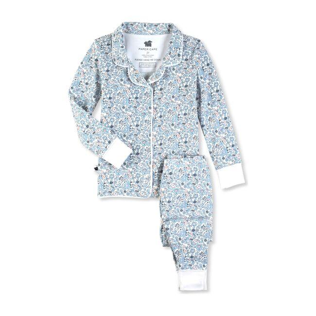 Classic Pajamas, Blue Floral