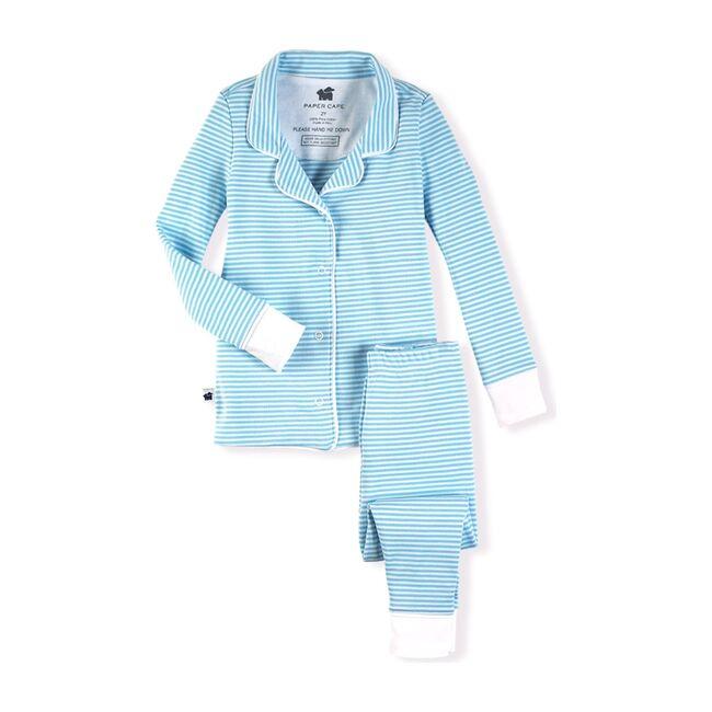 Classic Pajamas, Blue Stripe