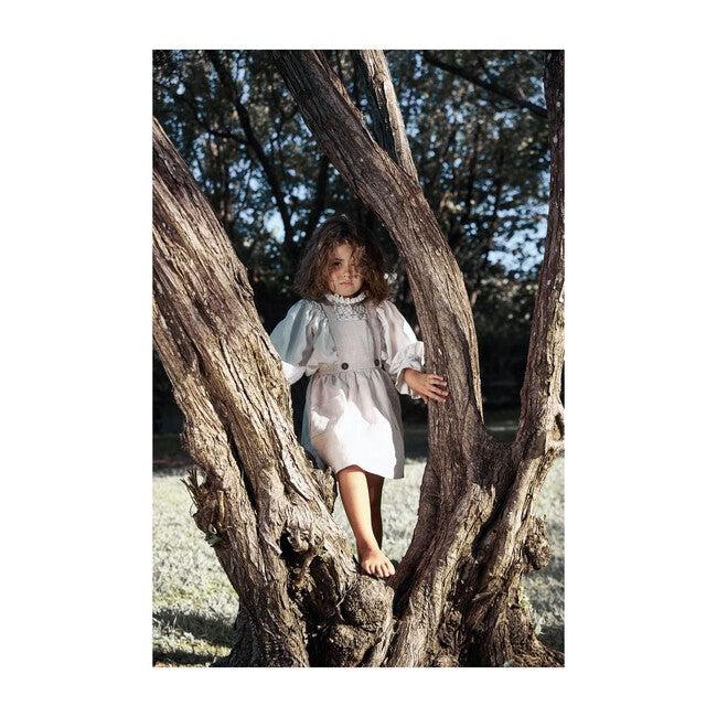 Alejandra Dress, Linen Natural