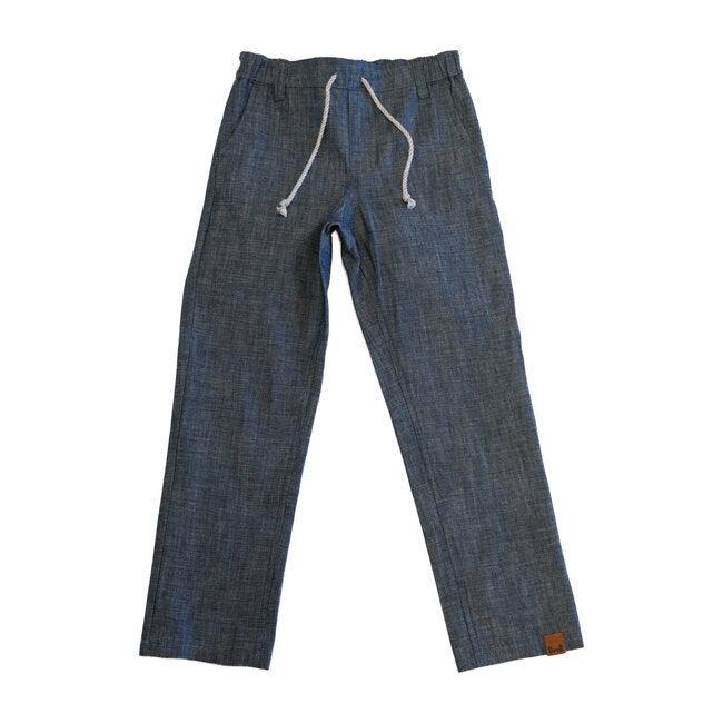 Easy Trouser Denim, Blue
