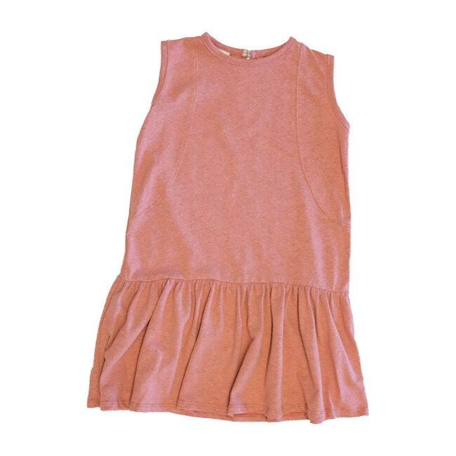 Drop Waist Dress, Coral