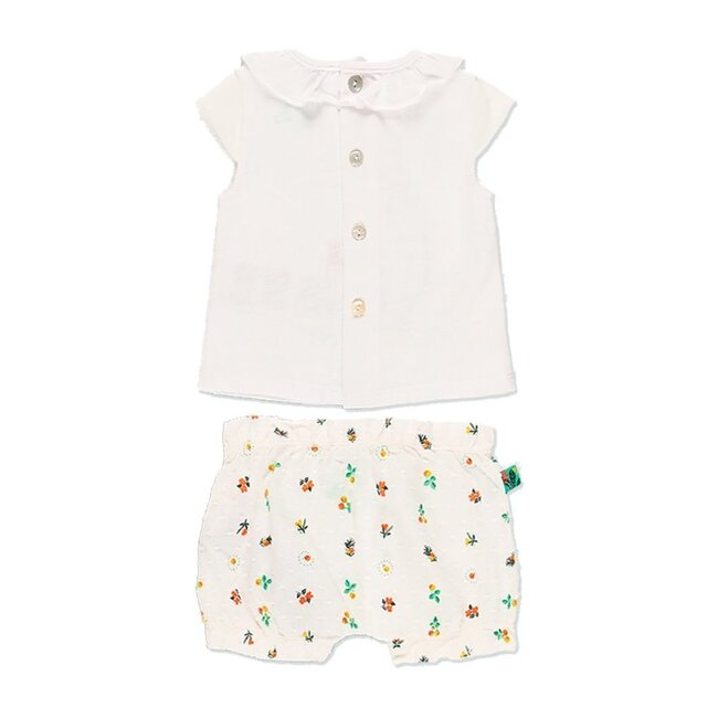 Frog Graphic Outfit, Off White