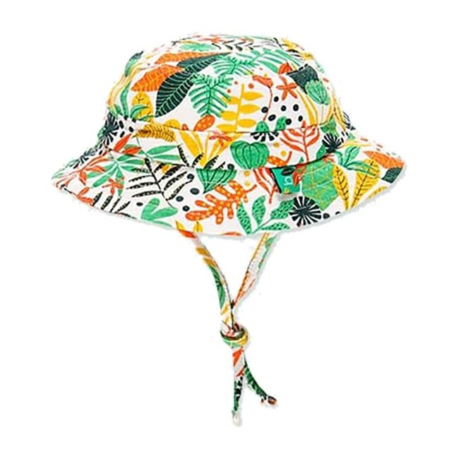 Floral Forest Hat, Green