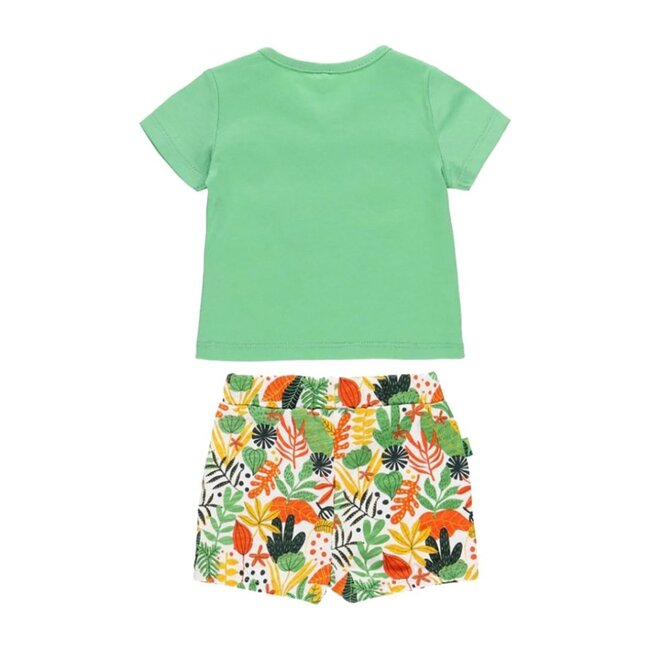 Animals Floral Outfit, Green