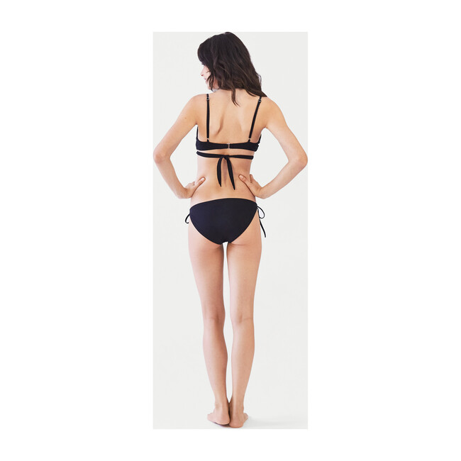 Women's James Bikini Bottom, Black
