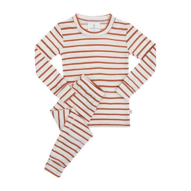 Merino Wool Long Johns, Sedona Stripe