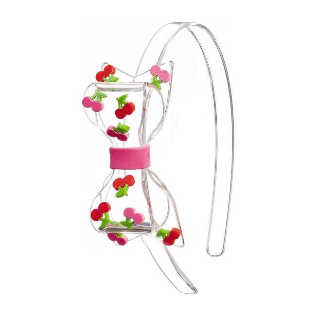 Fat Bow Cherry Headband