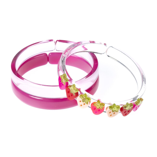 Multi Strawberry Pink Red Bangles