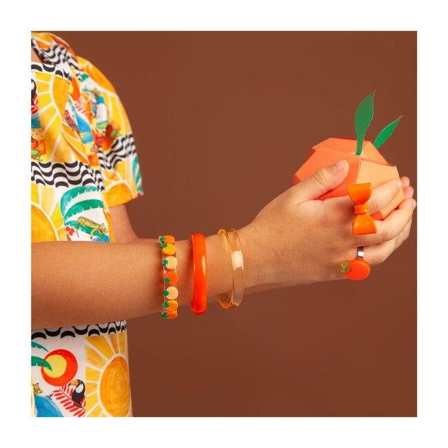 Multi Orange Bangles