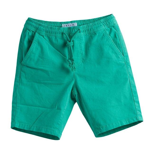 Deson Boys Short, Green - Swim Trunks - 1