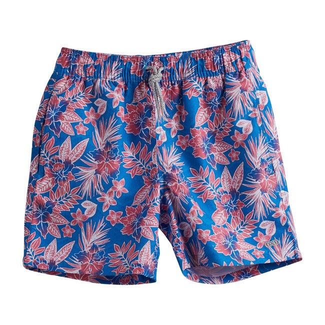 Flower Boys Geo Swim Trunks