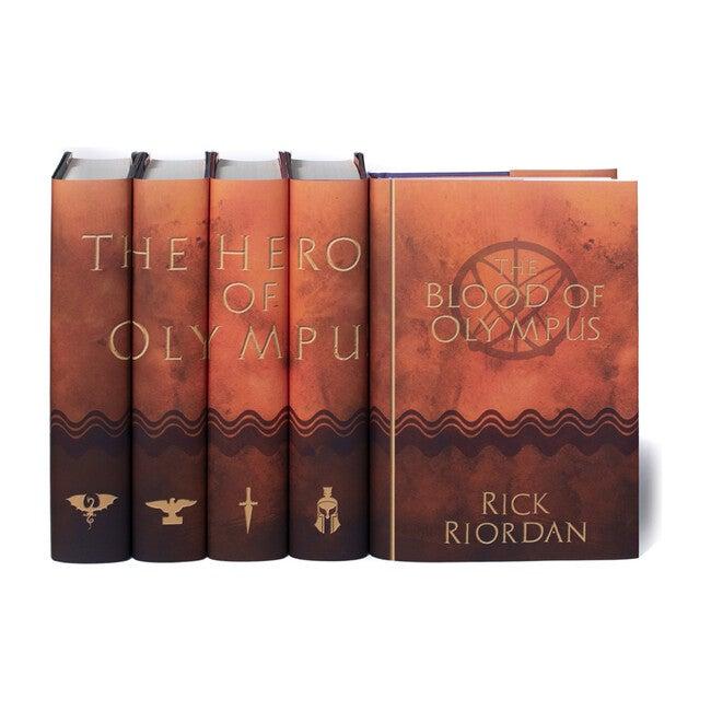 Heroes of Olympus Book Set