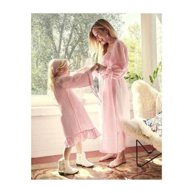 *Exclusive* Women's Atlanta Linen Dress, Pink
