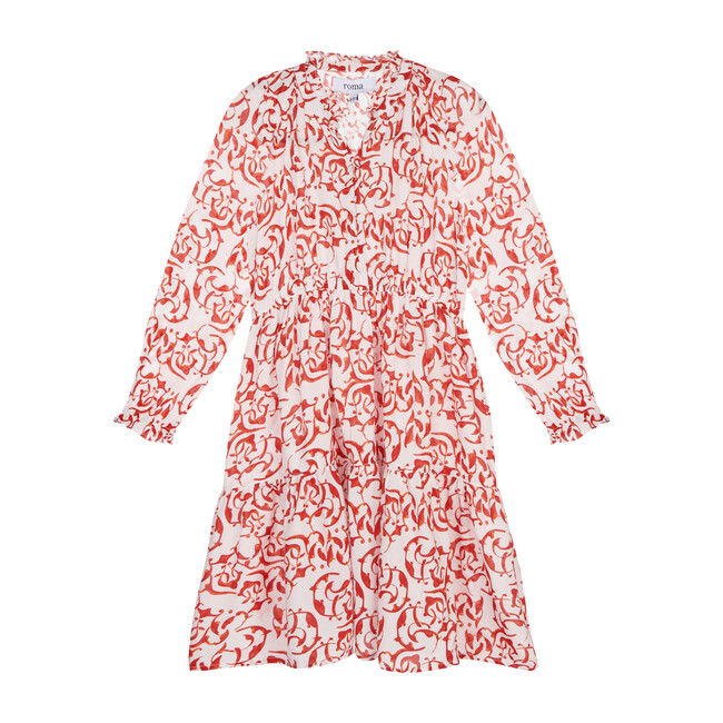 Sienna Dress, Red