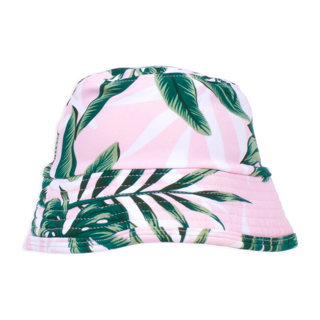 Bucket Hat, Pink Palm