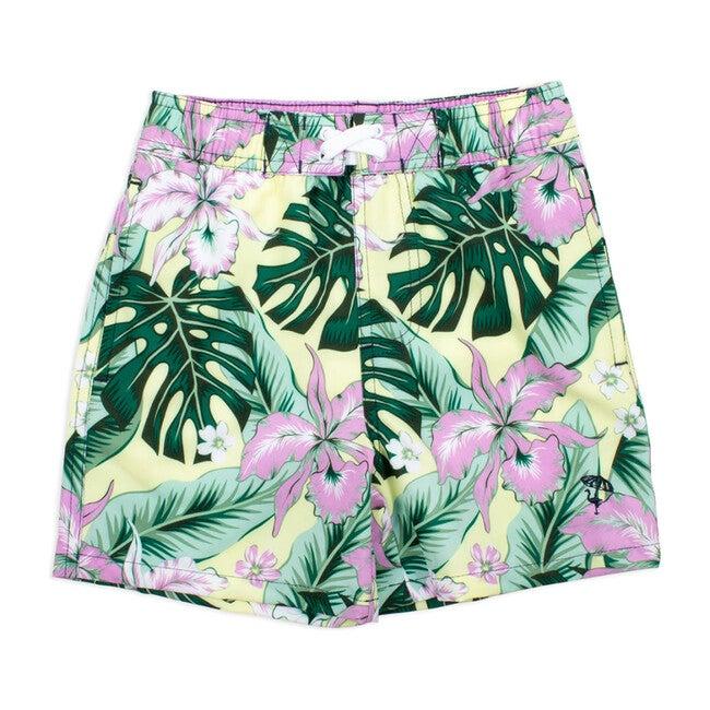 Boys Trunks, Tropical  Oasis
