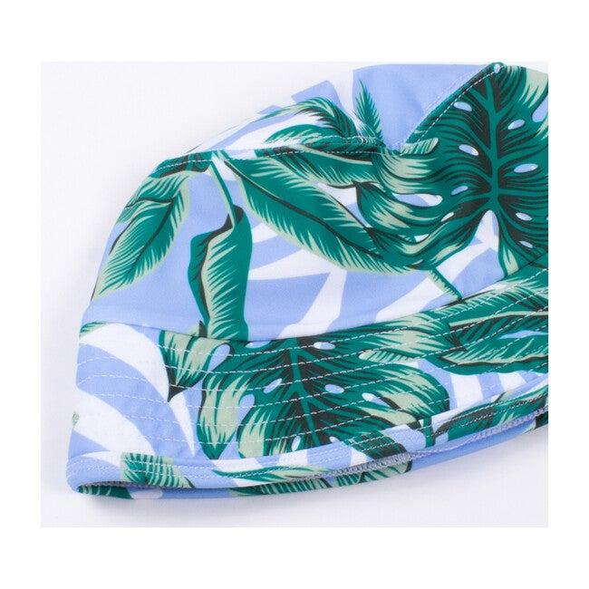 Bucket Hat, Blue Palm
