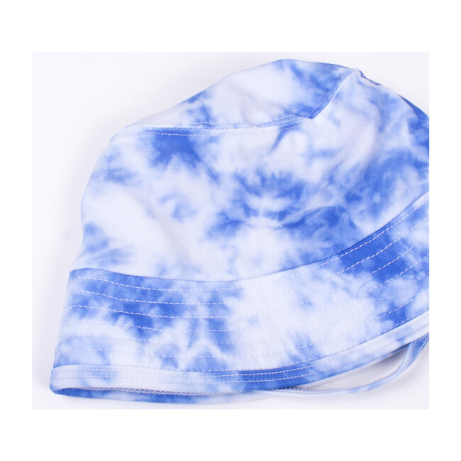 Bucket Hat, Navy Tie Dye