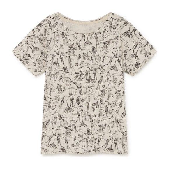 Soft Tattoo T-shirt, Cream