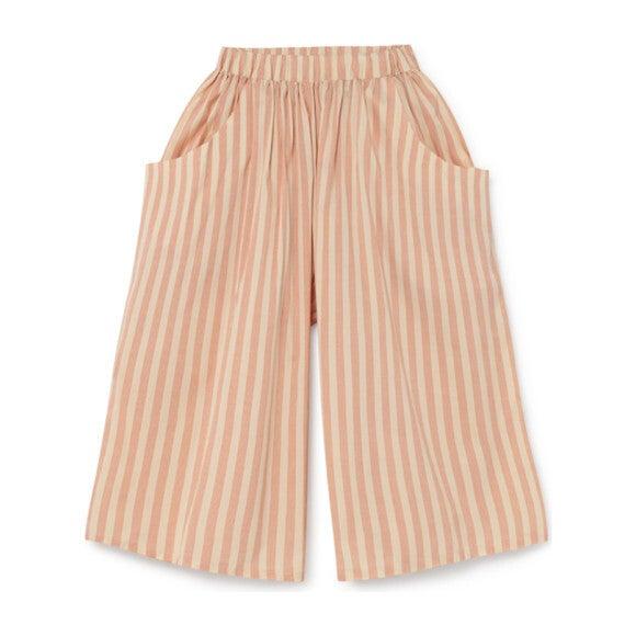 Carrousel Wide Pants, Orange Stripe