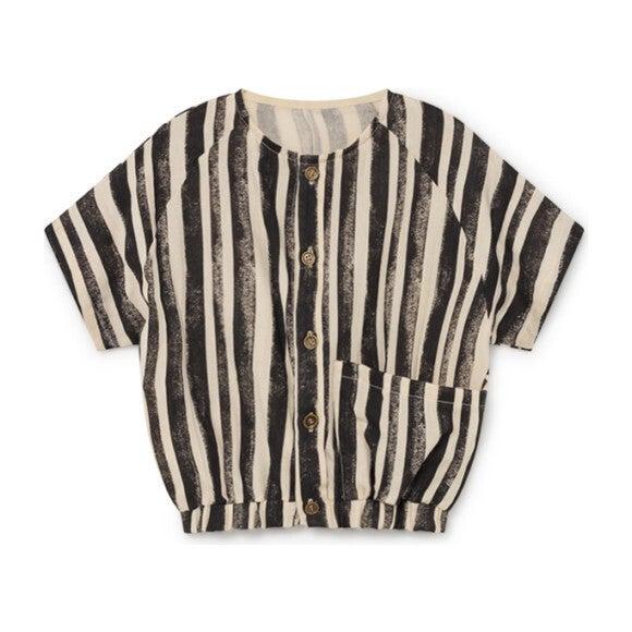 Swing Shirt, Black Stripe