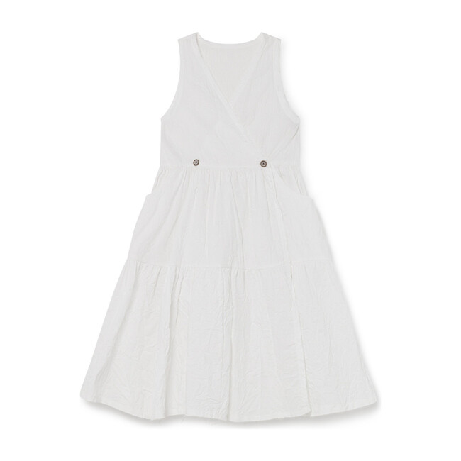 Swing Sundress, White