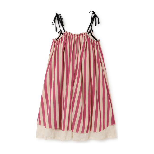 Playground Fairy Sundress, Candy Pink Stripe