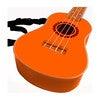 Ukulele, Sunrise Orange - Musical - 3