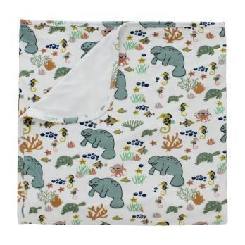 Manatee Luxury Bamboo Blanket - Blankets - 1