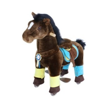 Chocolate Brown Horse with Accessories, Small