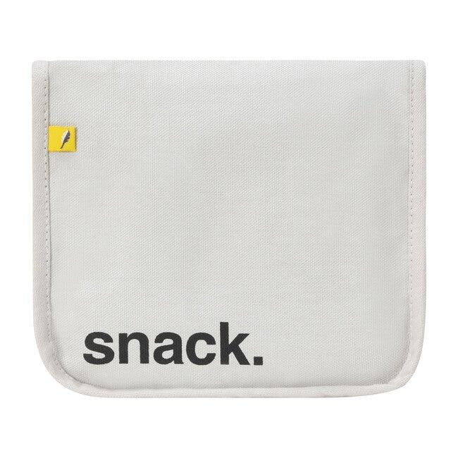 Snack Mat, Black With Yellow Zip