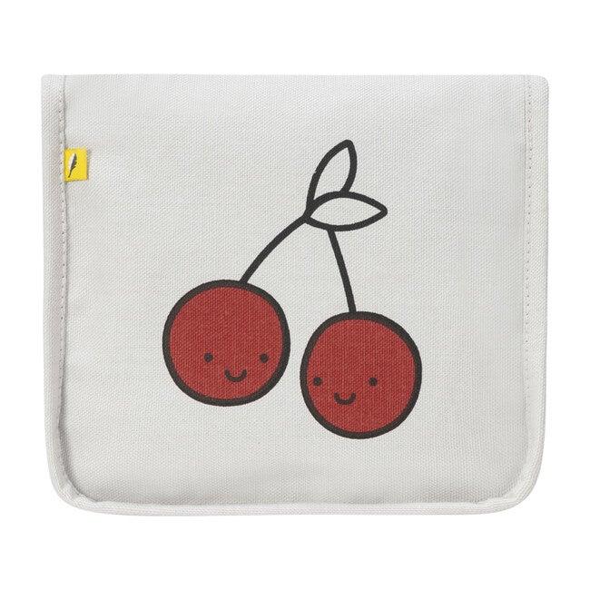 Snack Mat, Cherries Red