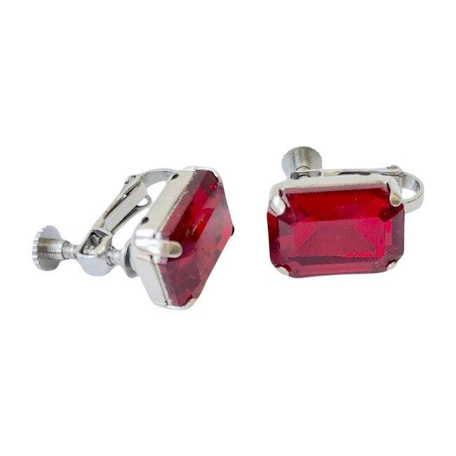 Rhinestone Birthstone Earrings