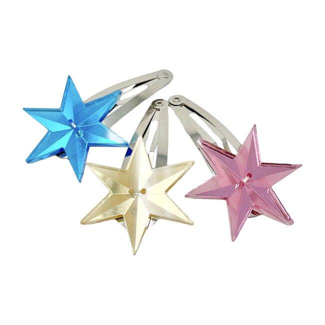 Ouroboros Star Hair Pin, Pink