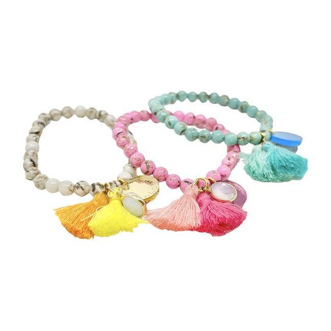 Ouroboros Bracelet, Pink