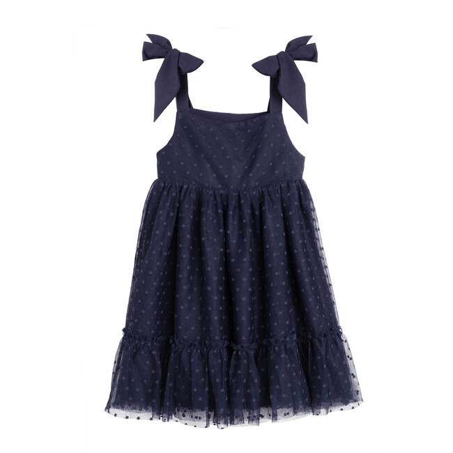 Anja Tulle Dress, Navy