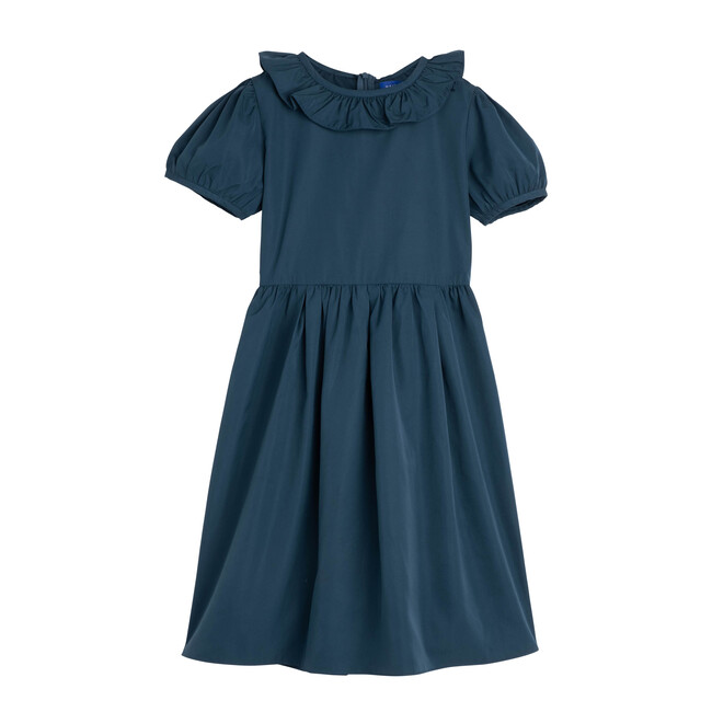 Sofia Dress, Peacock Blue