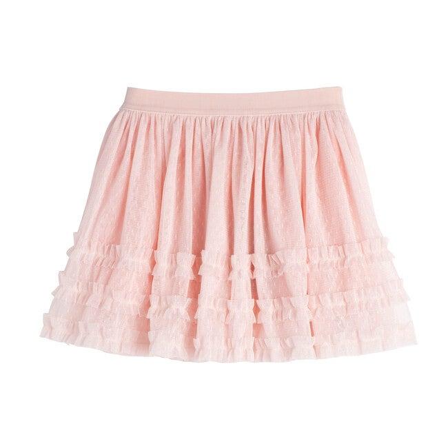 Elle Tulle Skirt, Dusty Pink