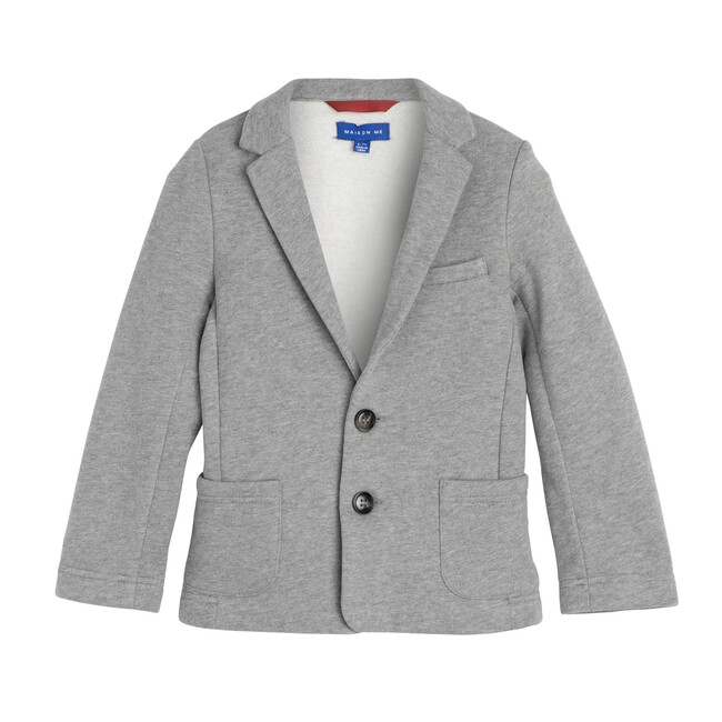 Ethan Soft Blazer, Heather Grey