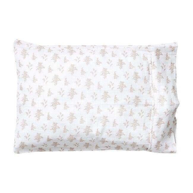 Toddler Pillowcase, Mauve Goldenrod