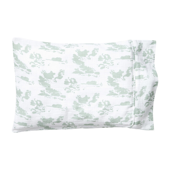 Toddler Pillowcase, Agave Clouds