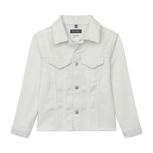 Manning Toddler Jacket, Milk Raw
