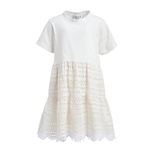 Linda Dress, White